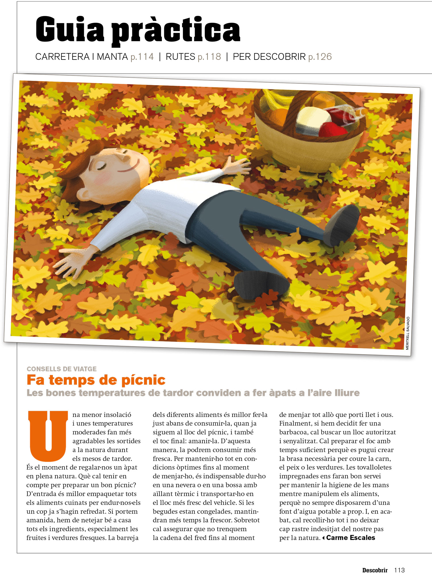 An autumnal article